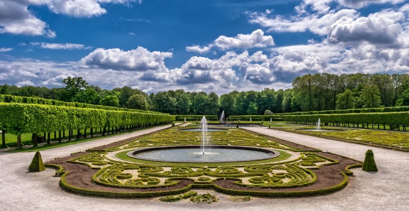 jardin grandiose