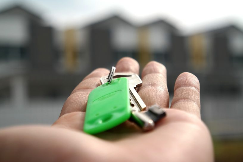 Remise de clé maison